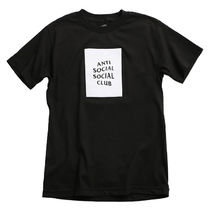 国内即発 ANTI SOCIAL SOCIAL CLUB BOX LOGO Tシャツ BLACK