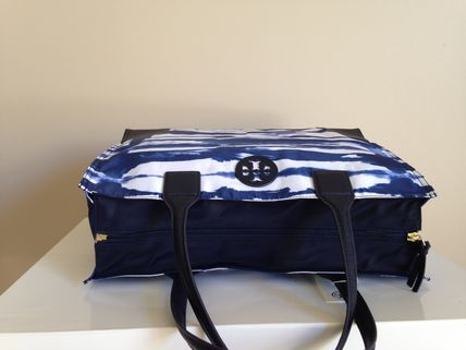 Tory Burch トートバッグ Tory Burch  Ella  Packable Tote 国内より即発送(5)