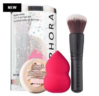 Sephora☆SEPHORA COLLECTION Mighty Minis Brush & Sponge Set