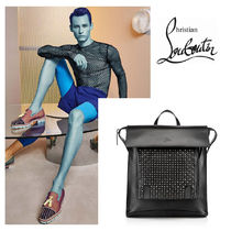 ChristianLouboutin ルブタン Syd New Strass Backpackメンズ