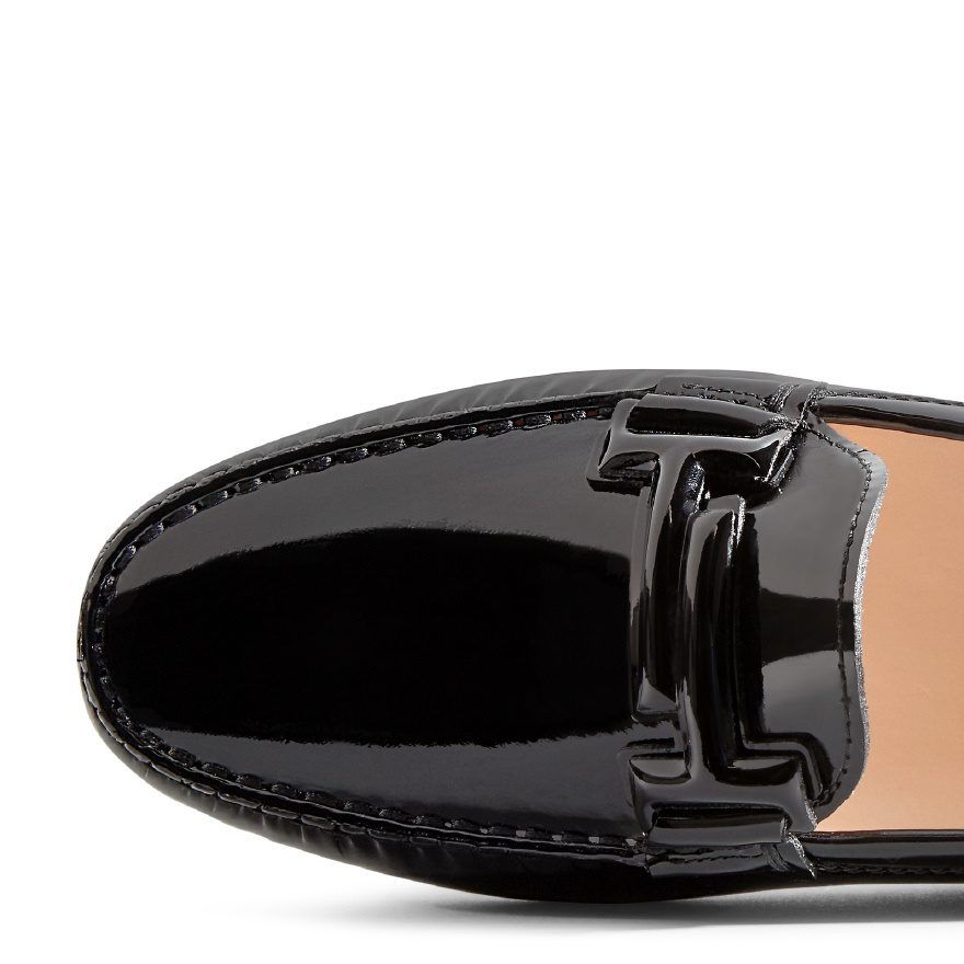 【17aw NEW】 TOD'S_women GOMMINO / DOUBLE T パテントレザー