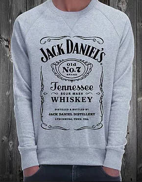 NO COMMENT Paris★Sweat スウェット★Jack Daniel's ref:SW02