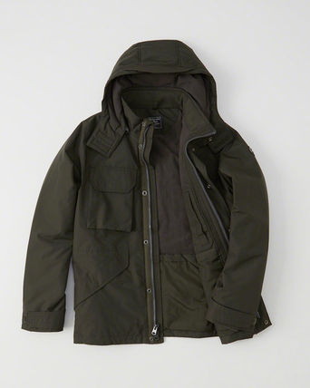 Abercrombie & Fitch ジャケットその他 アバクロ メンズジャケット   MIDWEIGHT TECHNICAL JACKET(2)