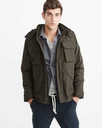 Abercrombie & Fitch ジャケットその他 アバクロ メンズジャケット   MIDWEIGHT TECHNICAL JACKET(3)