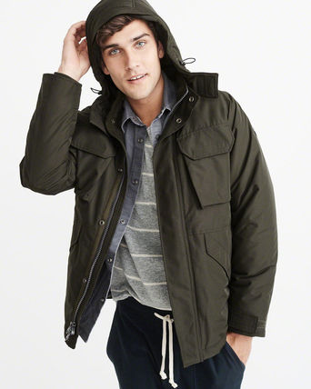 Abercrombie & Fitch ジャケットその他 アバクロ メンズジャケット   MIDWEIGHT TECHNICAL JACKET(6)