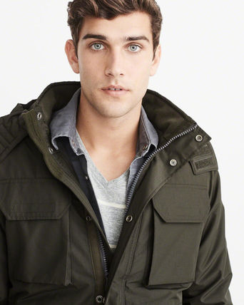 Abercrombie & Fitch ジャケットその他 アバクロ メンズジャケット   MIDWEIGHT TECHNICAL JACKET(7)