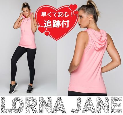 Lorna Jane フィットネストップス ★追跡有【Lorna Jane】Cool Down Hooded Tank★