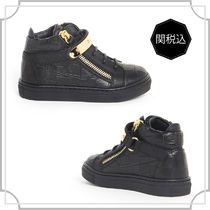 関税込☆LEATHER NICKI JUNIOR HI-TOP CLOSURE☆GIUSEPPEZANOTTI