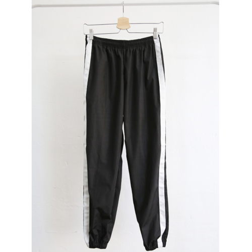 ★NEWPICKLE★韓国直送料込★TWO LINE TRACK PANTS(WH)