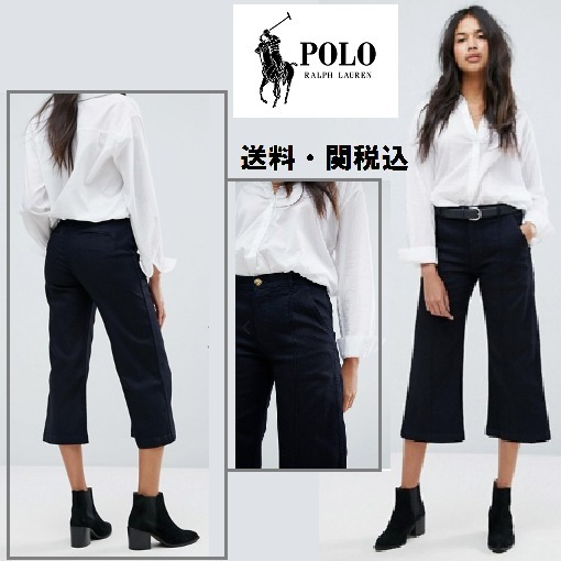 Polo Ralph Lauren Cropped ワイドレッグ Jean