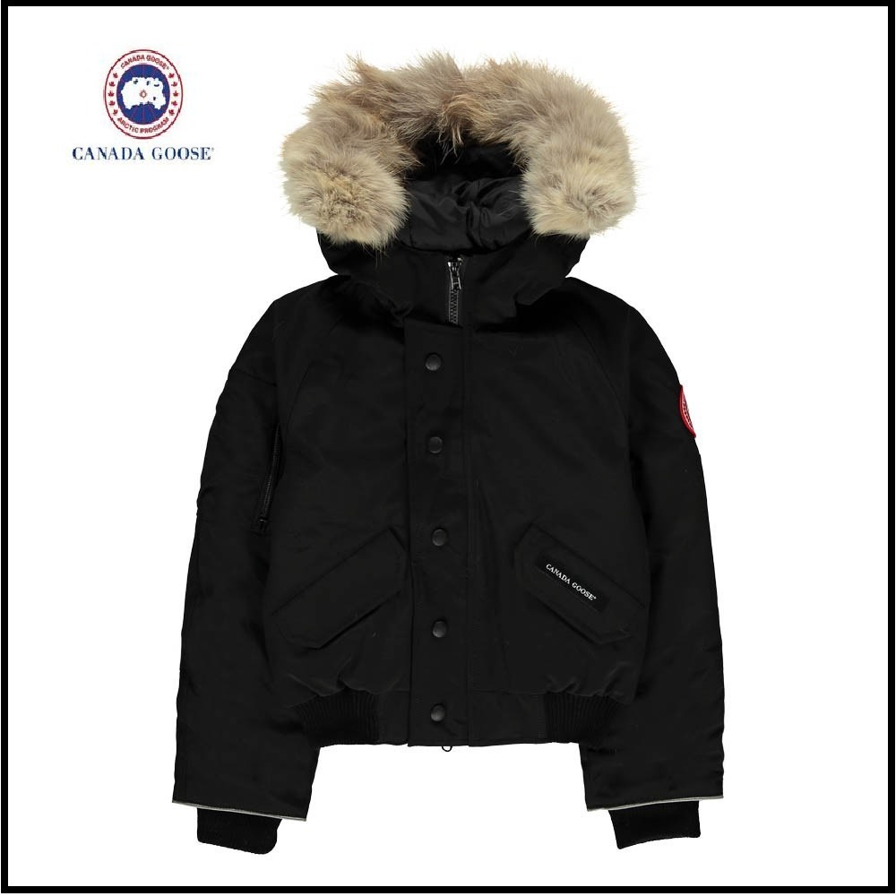 17-18AW【CANADA GOOSE】大人OK Rundle Bomber Jaket Black