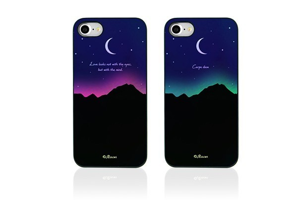 iPhone 8 / 7ケース Dparks Twinkle Case オーロラムーンライト