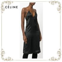 【17AW】大人気★CELINE★v-neck slip dress