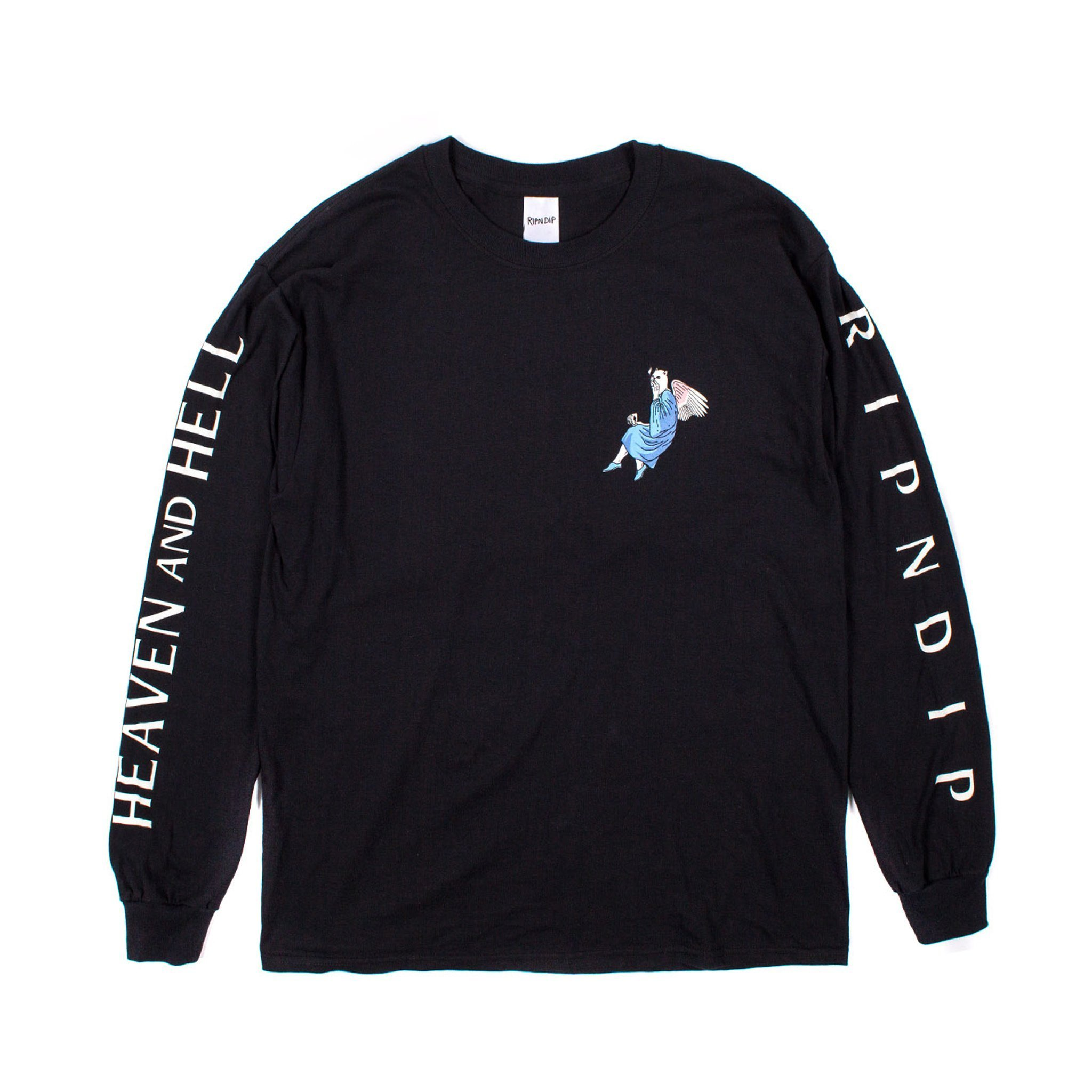17AW新作 RIPNDIP HEAVEN AND HELL L/S カットソー