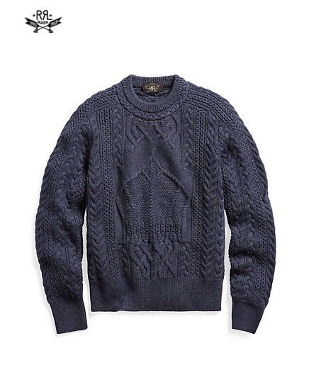 新作!★送料関税込★ MERINO WOOL CREWNECK SWEATER