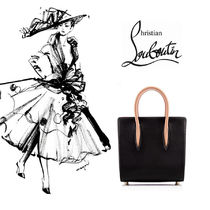 ChristianLoubouti ルブタン Paloma Small Tote Bag black