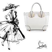 ChristianLoubouti ルブタンEloise Small Two Handle Bag White