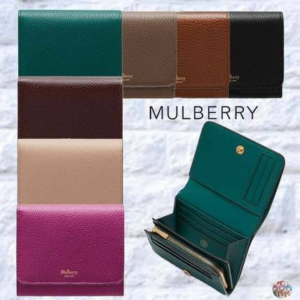 Mulberry 折りたたみ財布 Mulberry☆Small Continental French Purse 折り財布
