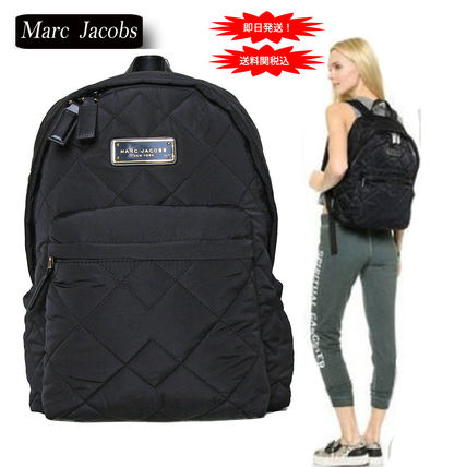 4f730fb4287a6 Marc Jacobs Quilted Nylon Backpack  MARC JACOBS バックパック・リュック 即日発送!特価! Marc  Jacobs Quilted Nylon Backpack ...