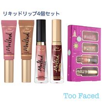 Too Faced ホリデー限定リキッドリップ4個セット 送料込