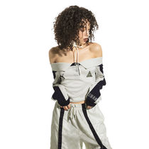 FENTY WOMEN'S OFF THE SHOULDER COLLARED JERSEY★間税込