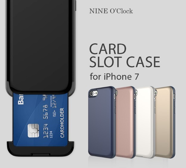 iPhone 8 / 7ケース カバー NINE O'Clock Card