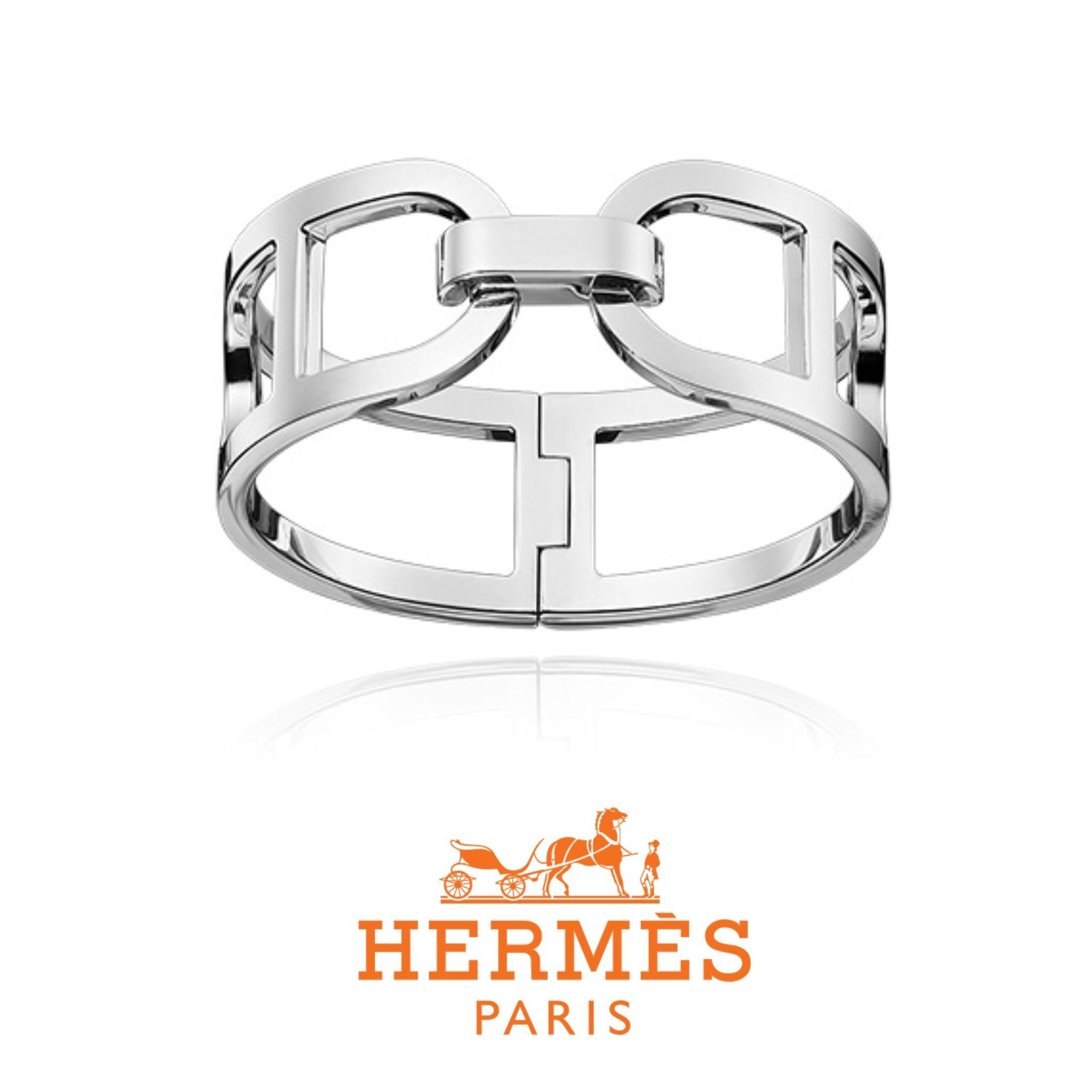 送料関税込☆HERMES Ever Chaine d'Ancre Medium-sized bracelet