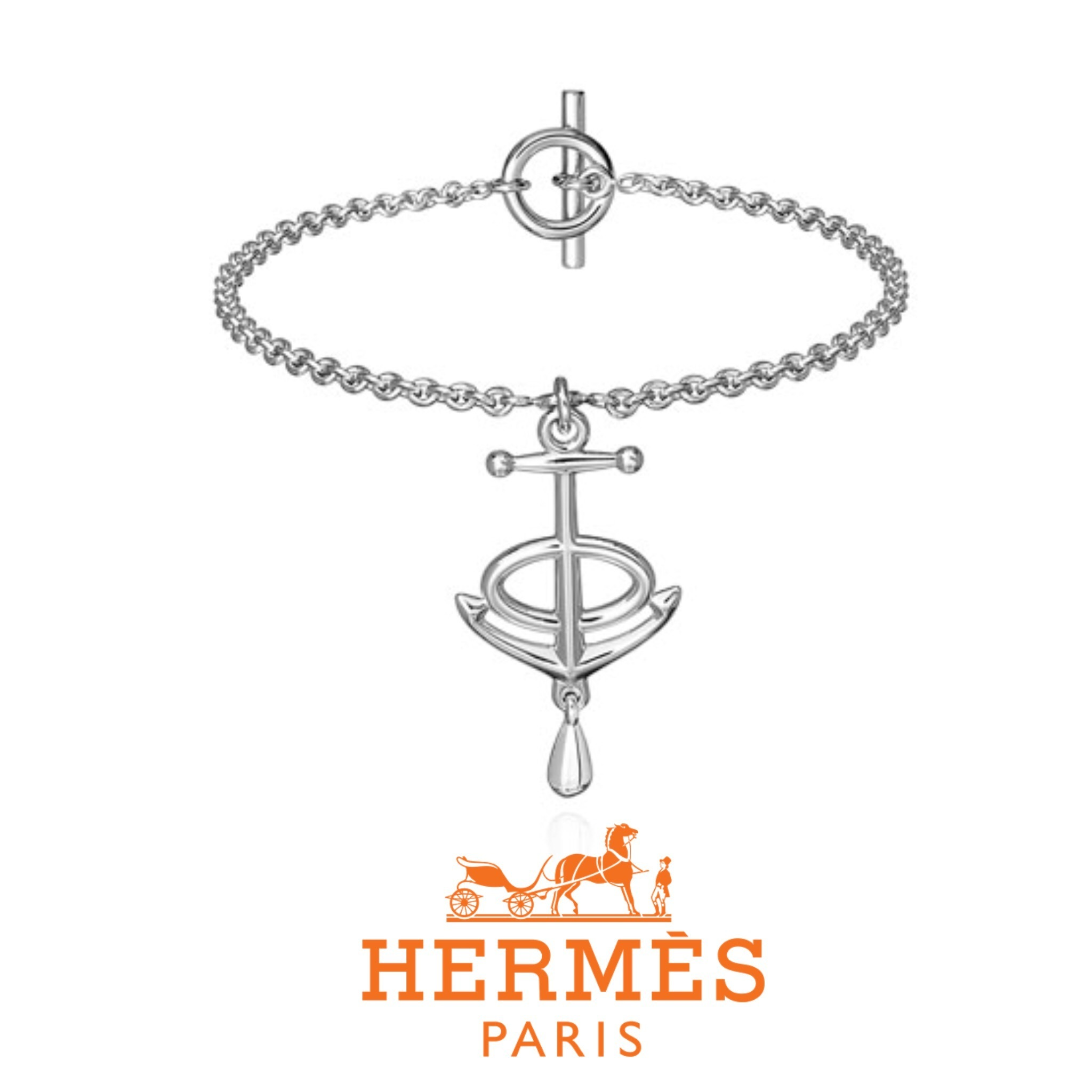 送料関税込☆HERMES Ever Grand Large Extra-small bracelet