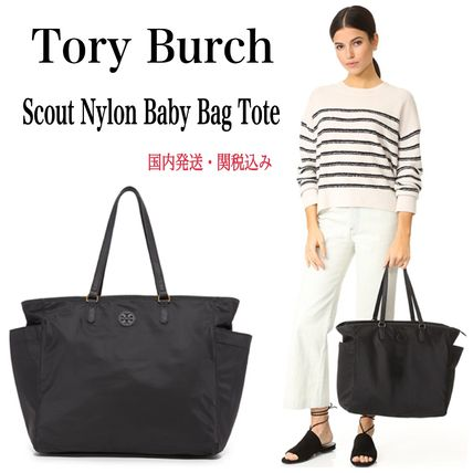 Tory Burch マザーズバッグ 【風間ゆみえ愛用Tory Burch】Scout Nylon Baby Bag Tote 国内発