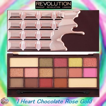 MAKEUP REVOLUTION アイメイク MAKEUP REVOLUTION☆I Heart Chocolate Rose Gold  アイシャドウ