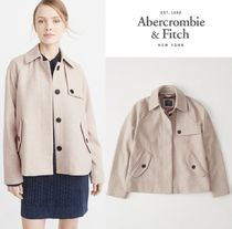★新作★送料込★A&F★WOOL-BLEND SWING COAT★