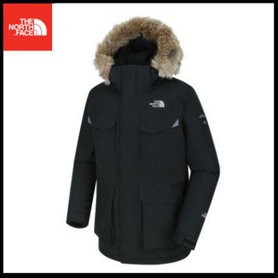 (ザノースフェイス) MS MCMURDO BASE DOWN PARKA BLACK NFJ1DH55