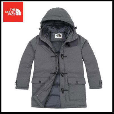 (ザノースフェイス) NELSON NOVELTY DOWN JACKET GREY NYJ1DG56