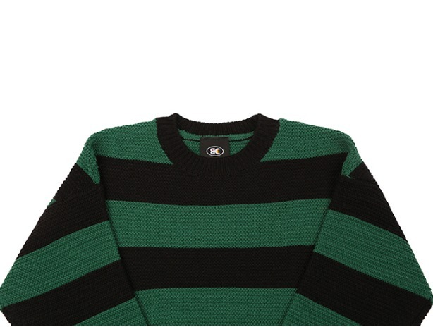 [BASIC COTTON] 正規品/ ☆Basic Stripe Knit ☆