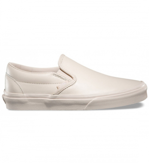 【VANS】CLASSIC SLIP ON DX☆本革Whisper Pink 22~28cm