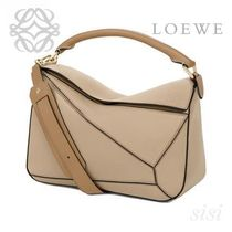 LOEWE★ロエベ Puzzle Bag Sand/Mink Colour