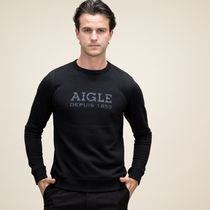 AIGLE(エーグル) Tシャツ・カットソー エーグル ZSH006J 005 FRENCH TERRIER AIGLE LOGO PULLOVER