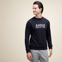 AIGLE(エーグル) Tシャツ・カットソー エーグル ZSH006J 075 FRENCH TERRIER AIGLE LOGO PULLOVER
