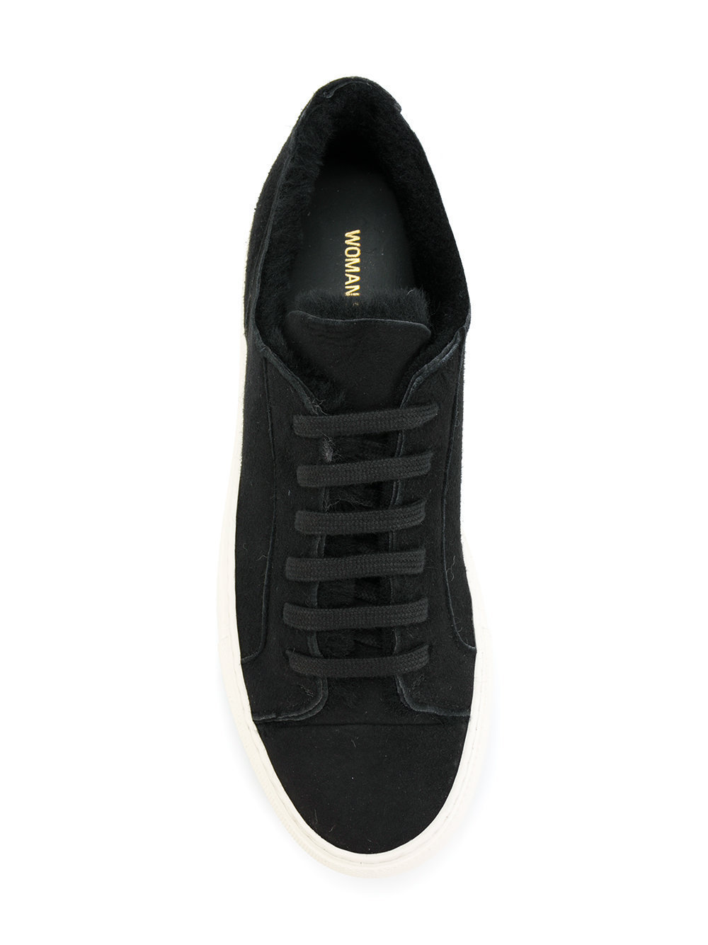 【COMMON PROJECTS】17AW★Tournamentムートンスニーカー/Black