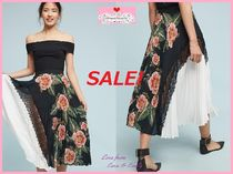 最終SALE☆ラス1即納【Anthro】Clea Pleated Skirt Size:S