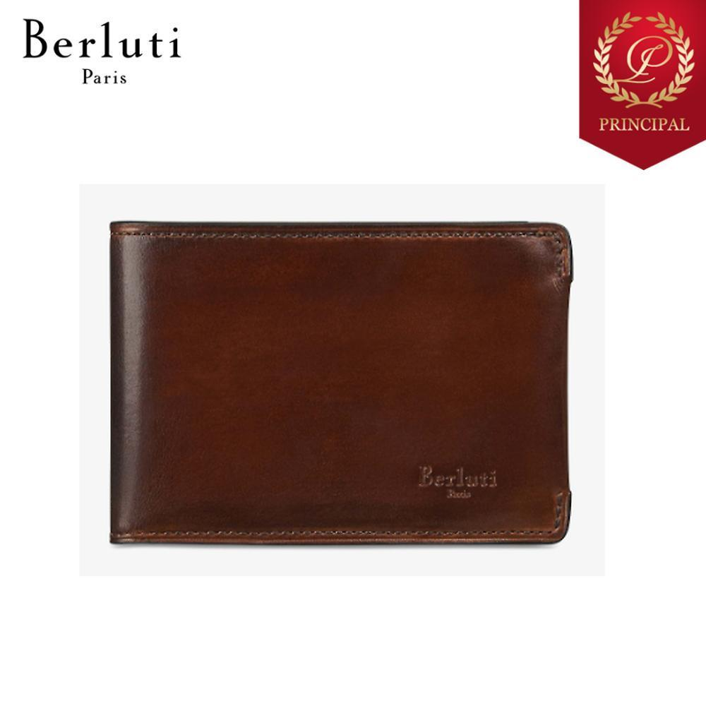 ◆Berluti ベルルッティ 財布 The Day After 財布 コンパクト 茶