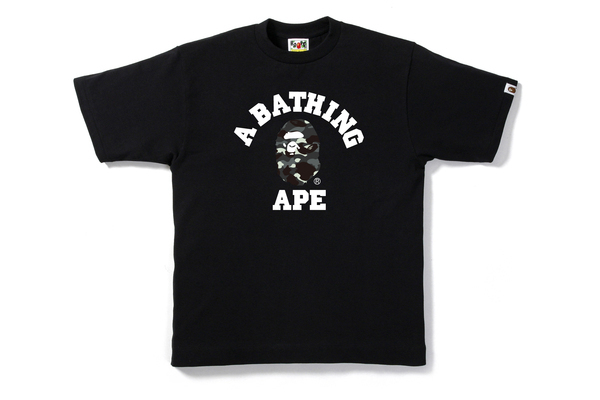 A BATHING APE / CITY CAMO COLLEGE TEE
