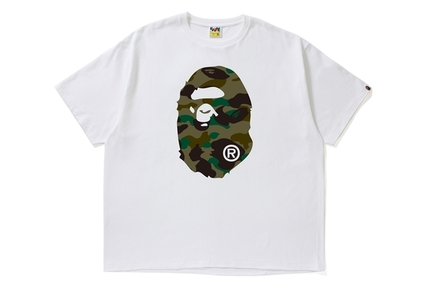 A BATHING APE / 1ST CAMO APE HEAD TEE -ONLINE EXCLUSIVE-