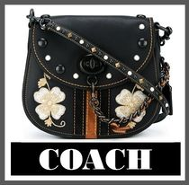 COACH Embroidered Flower Crossbody Bag (送料・関税込)