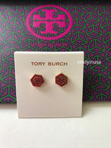 即発 Tory Burch★HEX LOGO STUD EARRING ピアス*ギフトに
