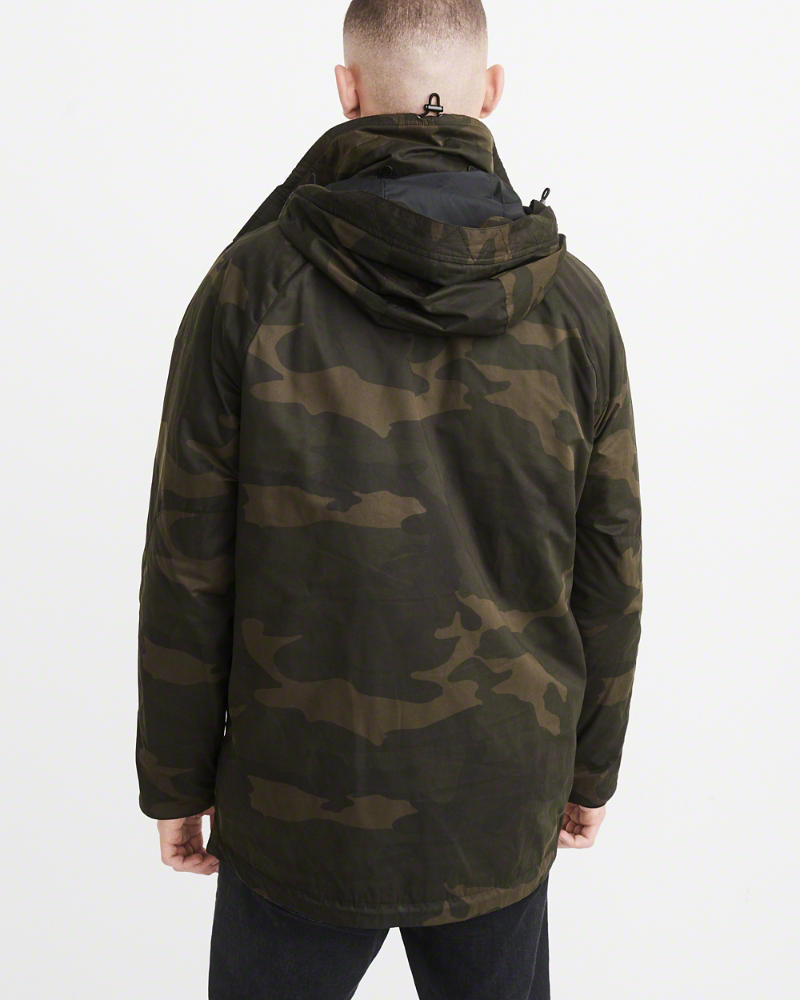 Abercrombie & Fitch(アバクロ) 3-IN-1 PARKA