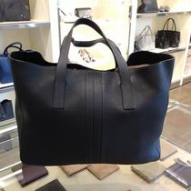 TOD'S(トッズ) トートバッグ VIPセール♪Tod's Race Shoppig bag Medium黒