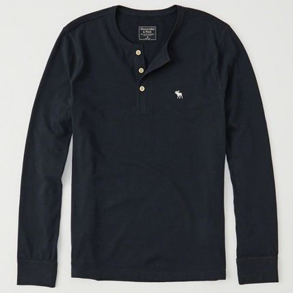 Abercrombie & Fitch Tシャツ・カットソー Abercrombie & Fitch(アバクロ) アイコンヘンリー長袖Tシャツ(2)