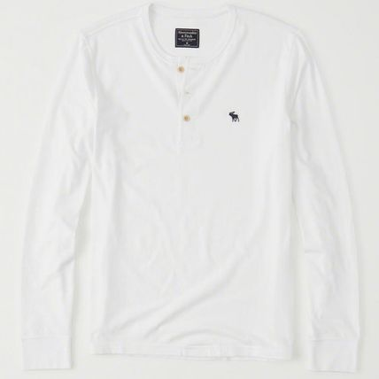 Abercrombie & Fitch Tシャツ・カットソー Abercrombie & Fitch(アバクロ) アイコンヘンリー長袖Tシャツ(3)