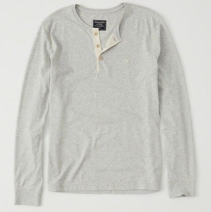 Abercrombie & Fitch Tシャツ・カットソー Abercrombie & Fitch(アバクロ) アイコンヘンリー長袖Tシャツ(4)